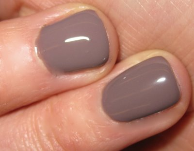 Would you wear this colored nail polish?  It looks like this person's nails are ill!