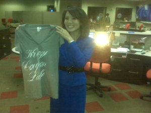 Couldn't you see this for sale at Nordstrom's one day?  I think it's quite fashionable for a t-shirt about COUPONS! :)