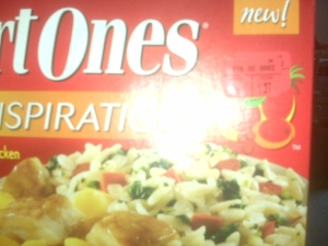 My bad for the poor picture quality, but there you see it!  $1.37!  Haven't had this kind though, so hopefully it's good.