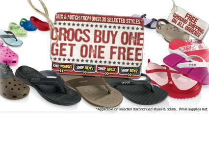While on vacation in Hawaii last year, I went to a Crocs store, and little did I know you could buy accessories to put into the holes of the shoe and personalize them. (I'm behind the curve on this one, I know!)