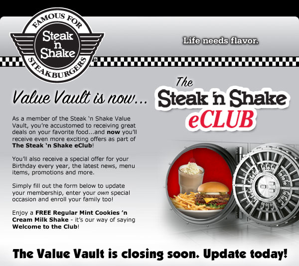 Steak n shake printable coupons