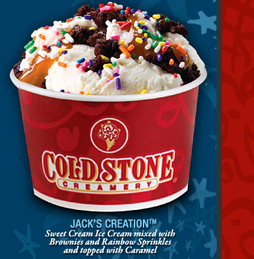 When I lived in Northampton, Massachusetts, I frequented an ice cream shop called Herrel's.  They too have a cold-stone to mix their ice cream and toppings on.  People were so loyal to Herrel's, that when the Cold Stone opened in town, there would be protests and boycotts.  The Cold Stone did not survive.
