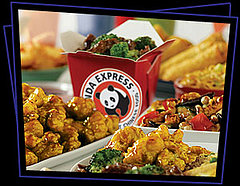 """People always ask me if the fast food take out Chinese is really what traditional Chinese food is like.  My answer, is a resounding """"no"""".  It's pretty Americanized.  However, I find gooey sticky sweet orange chicken fine by me!"""