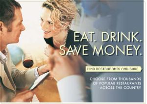 This image really says it all.  Eat. Drink. Save Money.  (Be Merry!)
