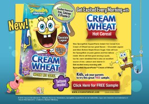 I loved Cream of Wheat growing up-- and my family would mix in shredded beef bits.