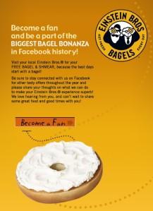 It's a bagel bonanza...