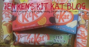Would you believe some flavors of KIT KATS include green tea, banana...passion fruit!?  That's what's pleasing to the Japanese palate!
